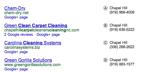 Google places the best do it yourself seo tool for local seo local google places listings solutioingenieria Images